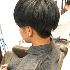 ストリート ショート マッシュ ボーイッシュ ヘアスタイルや髪型の写真・画像