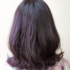 フェミニン ミディアム パーソナルカラー ヘアスタイルや髪型の写真・画像