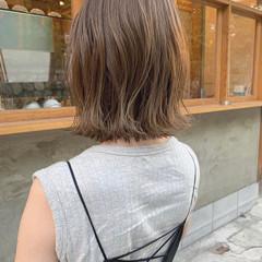 ミニボブ ベリーショート 切りっぱなしボブ ナチュラル ヘアスタイルや髪型の写真・画像