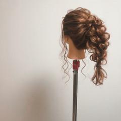 フェミニン ロング ポニーテール ポニーテールアレンジ ヘアスタイルや髪型の写真・画像