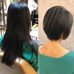 ショート ベリーショート ショートヘア ショートボブ ヘアスタイルや髪型の写真・画像