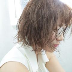 パーマ モード ゆるふわ 大人かわいい ヘアスタイルや髪型の写真・画像