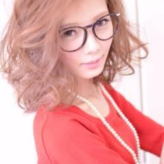 秋 ストリート 外国人風 ミディアム ヘアスタイルや髪型の写真・画像