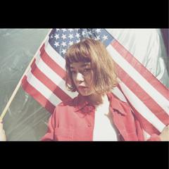 外国人風 簡単ヘアアレンジ ヘアアレンジ ショート ヘアスタイルや髪型の写真・画像