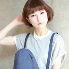 モテ髪 フェミニン ナチュラル 秋 ヘアスタイルや髪型の写真・画像