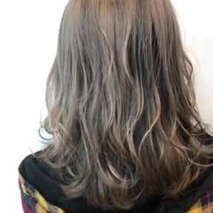 ブリーチカラー エレガント ハイライト ブリーチ必須 ヘアスタイルや髪型の写真・画像