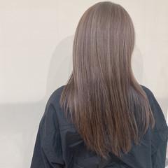 ハイトーン ガーリー 3Dハイライト ミルクティーベージュ ヘアスタイルや髪型の写真・画像