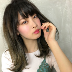 外国人風 アンニュイ 大人かわいい グレージュ ヘアスタイルや髪型の写真・画像
