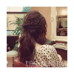 大人かわいい ロング ヘアアレンジ 大人女子 ヘアスタイルや髪型の写真・画像