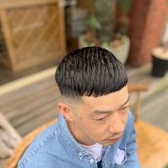 スキンフェード ストリート メンズヘア ショート ヘアスタイルや髪型の写真・画像