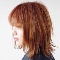 ウェットヘア ボブ 春 ストリート ヘアスタイルや髪型の写真・画像