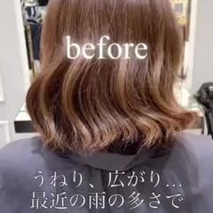 ナチュラル 大人かわいい 髪質改善トリートメント 髪質改善 ヘアスタイルや髪型の写真・画像