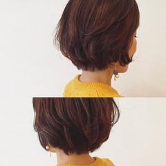 グラデーションカラー コンサバ レッド 外国人風 ヘアスタイルや髪型の写真・画像