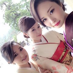 和服 和装 着物 ヘアアレンジ ヘアスタイルや髪型の写真・画像
