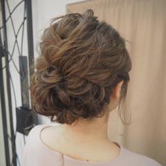ボブ ナチュラル 結婚式 ショート ヘアスタイルや髪型の写真・画像