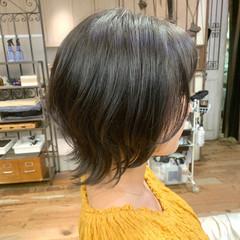 ウルフカット パーマ ウルフパーマヘア ボブウルフ ヘアスタイルや髪型の写真・画像