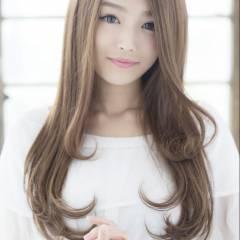 愛され モテ髪 ロング フェミニン ヘアスタイルや髪型の写真・画像