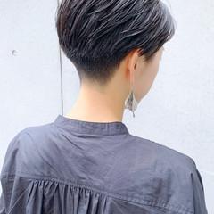 ショート 刈り上げ女子 刈り上げショート 刈り上げ ヘアスタイルや髪型の写真・画像