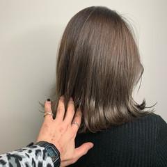 ショートヘア ボブ ナチュラル ミニボブ ヘアスタイルや髪型の写真・画像
