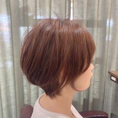 ミニボブ インナーカラー ショートヘア ベリーショート ヘアスタイルや髪型の写真・画像