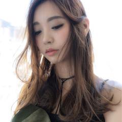 大人女子 ナチュラル 小顔 抜け感 ヘアスタイルや髪型の写真・画像