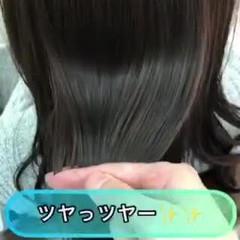 ロング 美髪 髪質改善トリートメント 縮毛矯正 ヘアスタイルや髪型の写真・画像