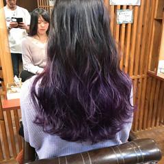 ガーリー 外国人風カラー ハイライト ロング ヘアスタイルや髪型の写真・画像
