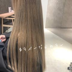 ナチュラル デート オフィス インナーカラー ヘアスタイルや髪型の写真・画像
