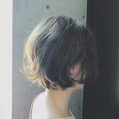 色気 ショート ボブ モード ヘアスタイルや髪型の写真・画像