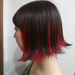 ショート ナチュラルグラデーション コントラストハイライト ハイライト ヘアスタイルや髪型の写真・画像