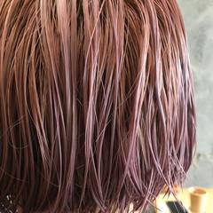 ハイトーン ショート モード ダブルカラー ヘアスタイルや髪型の写真・画像