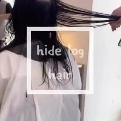 デジタルパーマ ロング 外国人風パーマ パーマ ヘアスタイルや髪型の写真・画像