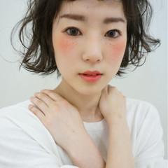 ヘアアレンジ アッシュ 夏 ガーリー ヘアスタイルや髪型の写真・画像