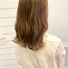 ショコラブラウン アッシュブラウン ブラウンベージュ ナチュラル ヘアスタイルや髪型の写真・画像