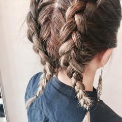 ヘアアレンジ ガーリー ボブ 女子会 ヘアスタイルや髪型の写真・画像