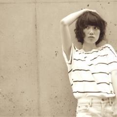ボブ ストリート 夏 リラックス ヘアスタイルや髪型の写真・画像
