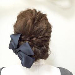 フェミニン 愛され ゆるふわ ヘアアレンジ ヘアスタイルや髪型の写真・画像