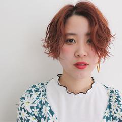 色気 パーマ ストリート デート ヘアスタイルや髪型の写真・画像