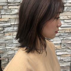 ナチュラル可愛い ナチュラル レイヤースタイル ミディアム ヘアスタイルや髪型の写真・画像