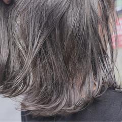ブリーチ ダブルカラー ボブ グラデーションカラー ヘアスタイルや髪型の写真・画像