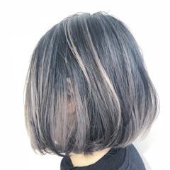 ナチュラル ハイライト バレイヤージュ グラデーションカラー ヘアスタイルや髪型の写真・画像