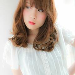 大人かわいい ピュア パーマ ナチュラル ヘアスタイルや髪型の写真・画像