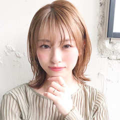 ヘアアレンジ ミディアム モテ髪 パーティ ヘアスタイルや髪型の写真・画像