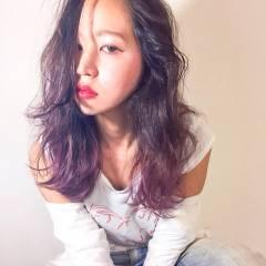 ストリート パンク 卵型 春 ヘアスタイルや髪型の写真・画像
