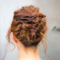 ショート アッシュ ハーフアップ 簡単ヘアアレンジ ヘアスタイルや髪型の写真・画像