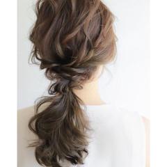 大人かわいい ナチュラル ヘアアレンジ 大人女子 ヘアスタイルや髪型の写真・画像