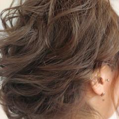 簡単ヘアアレンジ デート ヘアアレンジ 結婚式 ヘアスタイルや髪型の写真・画像