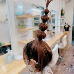 アップスタイル ミディアム ナチュラル 大人ヘアスタイル ヘアスタイルや髪型の写真・画像