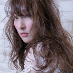 ヘアアレンジ 女子会 ロング エレガント ヘアスタイルや髪型の写真・画像