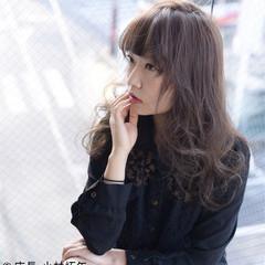 ヘアアレンジ 大人女子 小顔 セミロング ヘアスタイルや髪型の写真・画像